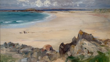 The Bay, painted by Frank Laing