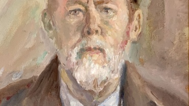 Self-Portrait by Ronald Ossory Dunlop RA