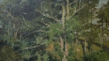 The Elm, painting by Bernard Dunstan RA