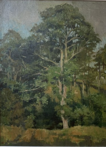 The Elm, painting by Bernard Dunstan RA