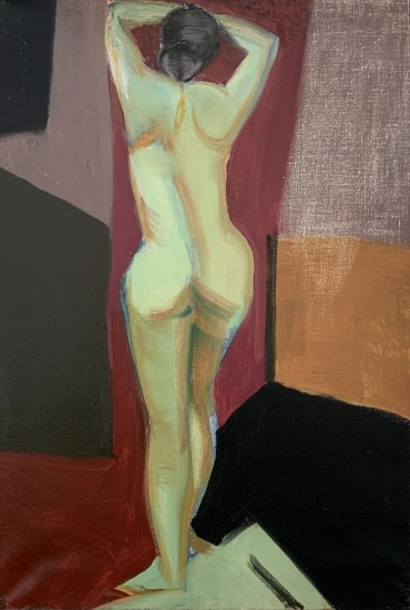 Standing Nude by Rose Hilton