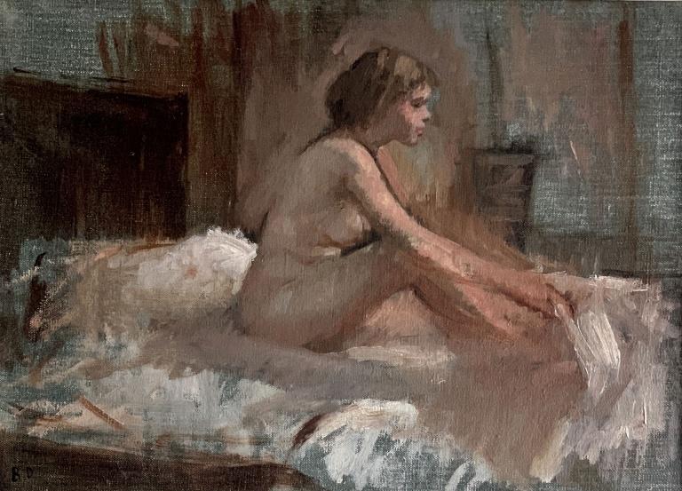 Norma, painting by Bernard Dunstan RA