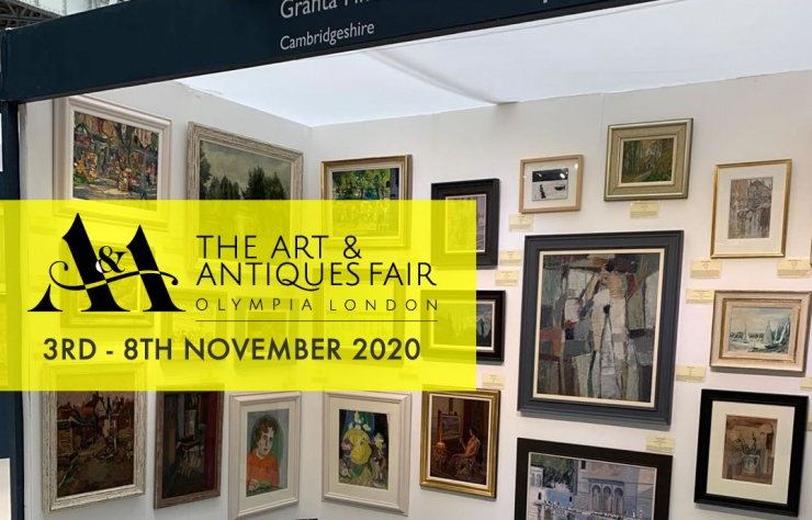 Art & Antiques Fair, Olympia - visit the Granta Fine Art Stand