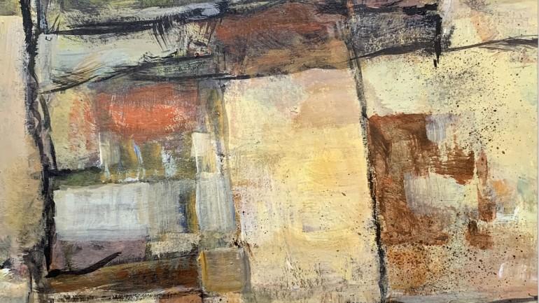 Field Patterns, painting by Robert Sadler – at Granta Fine Art