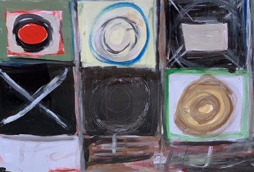 Noughts & Crosses by Henry Cliffe at Granta Fine Art