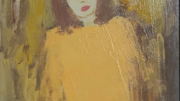 Girl in Yellow Dress by Carlos Saccardi at Granta Fine Art