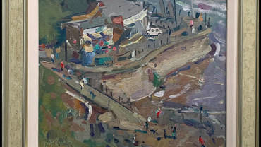 Above The Harbour by Andrew Farmer at Granta Fine Art