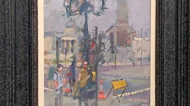 Trafalgar Square by Andrew Farmer at Granta Fine Art