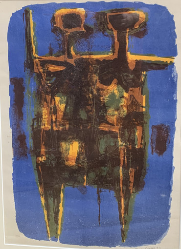 Standing Figures by Henry Cliffe at Granta Fine Art