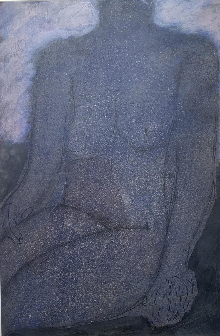 Seated Nude by John Emanuel at Granta Fine Art