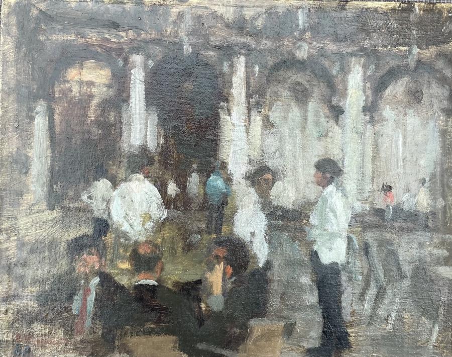 Waiters at Florians