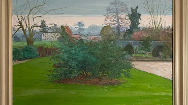 View of the Garden by Margaret Green at Granta Fine Art