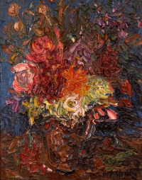 Bouquet by Michael Strang at Granta Fine Art